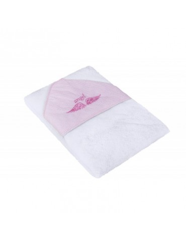 Yosoy Ręcznik Angel różowe 100 cm x 100 cm