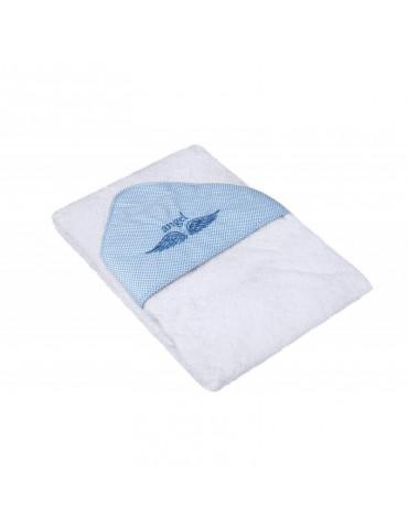 Yosoy Ręcznik Angel błękitny 80 cm x 80cm
