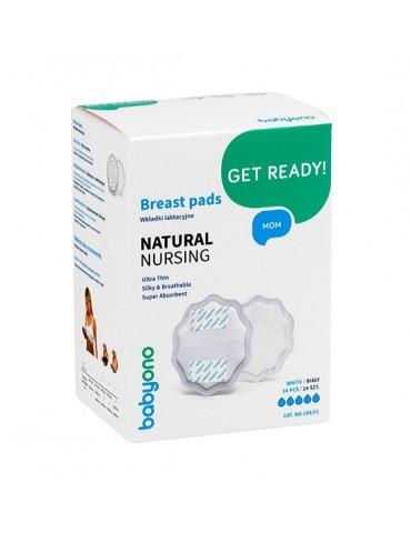 BabyOno Wkładki laktacyjne Natural Nursing Białe