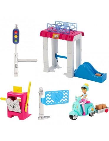 Barbie On The Go Poczta zestaw + Lalka