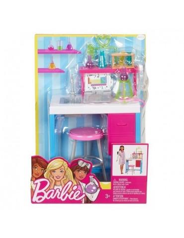 Barbie Zestaw mebelków Kariera Laboratorium naukowe