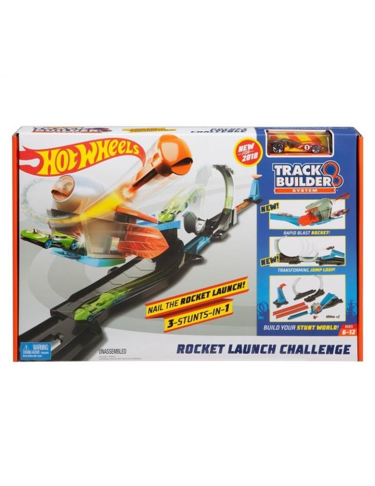 Hot Wheels Track Builder  Zestaw Wyrzutnia rakiet