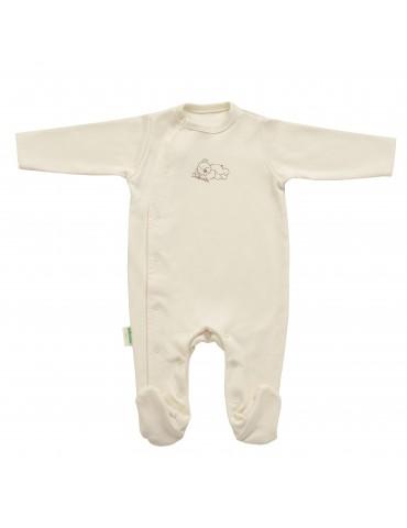 Pajacyk niemowlęcy z bawełny organicznej Dzidzius Veto