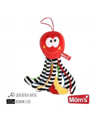 Hencz Toys Mini Ośmiornica Czerwona