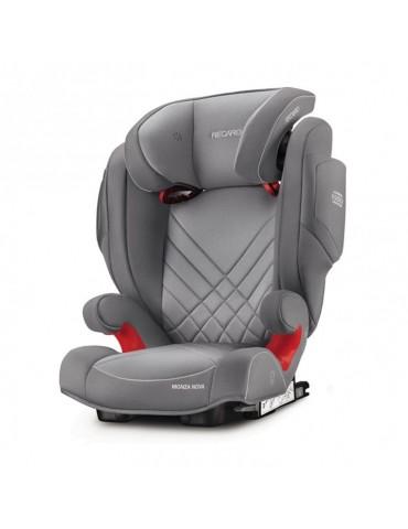Fotelik Recaro Monza Nova 2 Seatfix Fotelik 15-36kg Aluminium grey