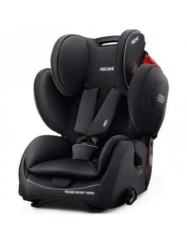 Fotelik  Recaro Young Sport Hero Fotelik 9-36 kg Hero Performance Black