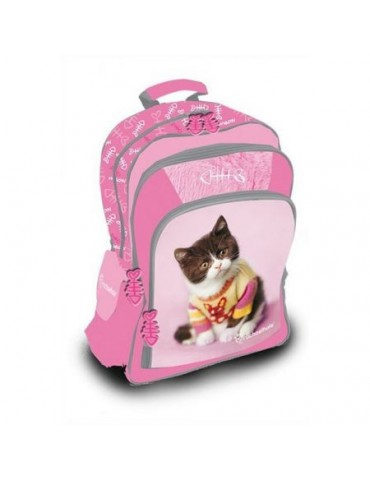 Plecak szkolny Kot