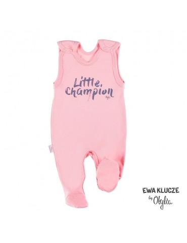 Śpioch niemowlęcy bawełniany dziewczęcy LITTLE CHAMPION by Otylia 56-74 Ewa Klucze