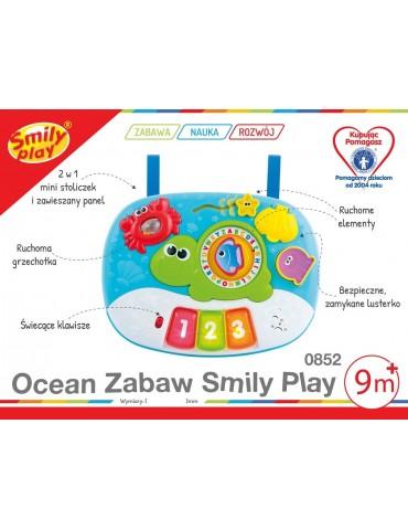 Smily Play  zabawka interaktywna Ocean zabawy 2w1