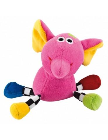 """Welurowa zabawka dźwiękowa """"Zwariowane zwierzątka"""" Canpol Babies"""