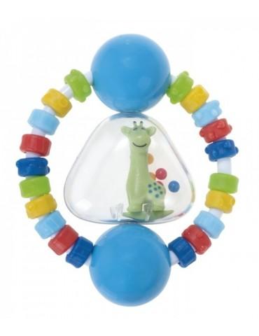 Grzechotka z gryzakiem elastycznym Żyrafka Canpol Babies