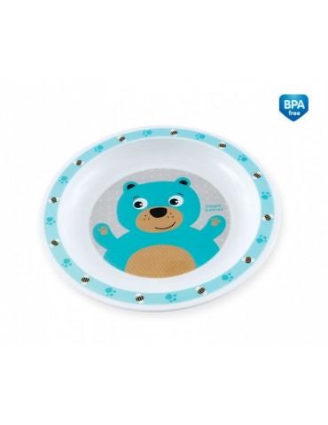 Talerz talerzyk plastikowy Canpol Babies