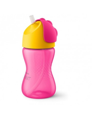 Kubek ze słomką 300 ml Girl Avent Philips