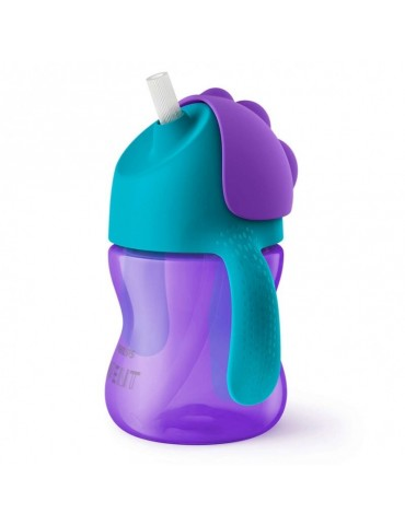 Kubek ze słomką 200 ml Girl Avent Philips