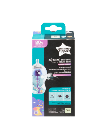 Butelka antykolkowa ADVANCED BOY Tommee Tippee 260 ml