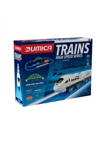 Dumica - Super szybki pociąg w zestawie z torami Dumel