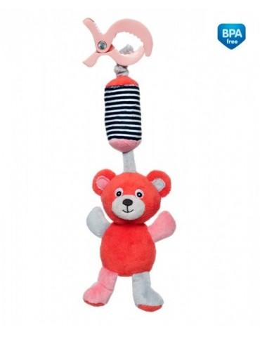 Canpol  Pluszowa zabawka z dzwoneczkiem