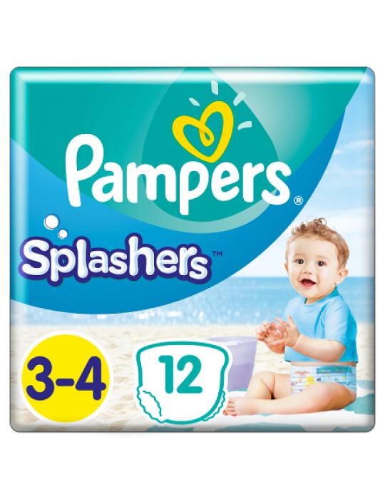 Pampers Splashers pieluchy jednorazowe do pływania rozmiar 3-4 12 szt.