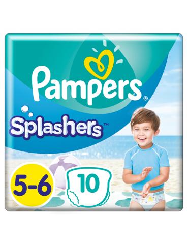 Pampers Splashers pieluchy jednorazowe do pływania rozmiar 5-6 10 szt.