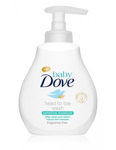 Dove Baby emulsja do mycia ciała i włosów Sensitive Moisture 200 ml