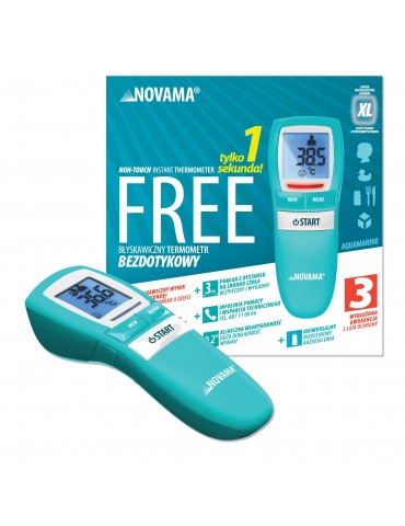 Novamed termometr bezdotykowy Novama Free Aquamarine