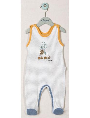 Śpioch niemowlęcy bawełniany WILD WEST 48-74 Nicola