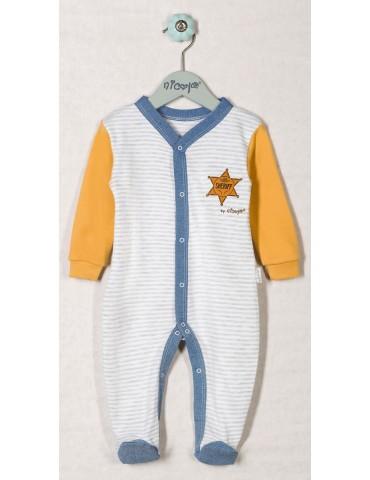 Pajac niemowlęcy bawełniany WILD WEST 48-98 Nicola