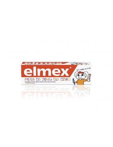 Elmex pasta do zębów dla dzieci 6 lat