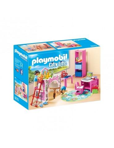Kolorowy pokój dziecięcy Playmobil