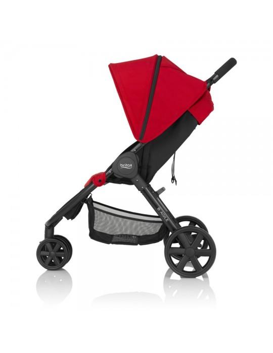 Britax B-agile 3 wózek spacerowy flame red
