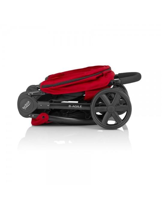 Britax wózek B-agile 3 FLAME RED