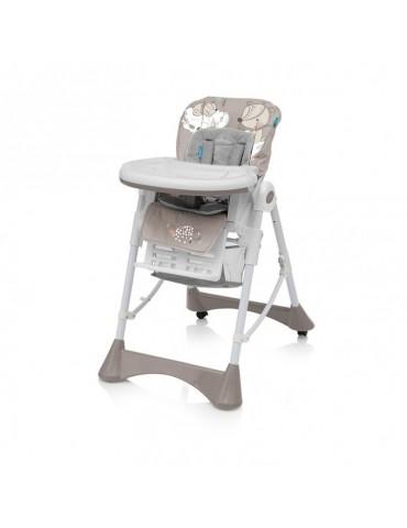 Krzesełko do karmienia Pepe Baby Design beżowe new