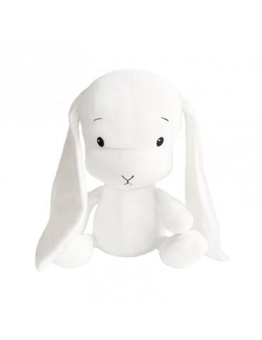Królik Effik S  Biały białe uszy 20 cm
