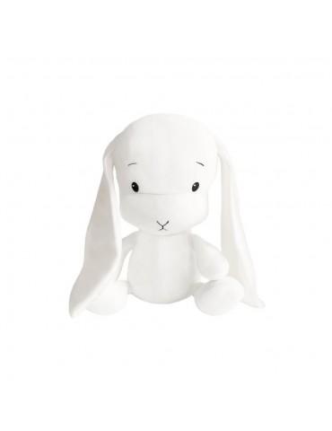 Effik Królik M Biały białe uszy 35 cm