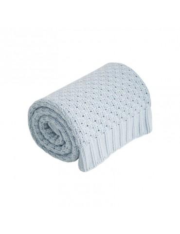 Effik Kocyk niebieski 100% bawełny