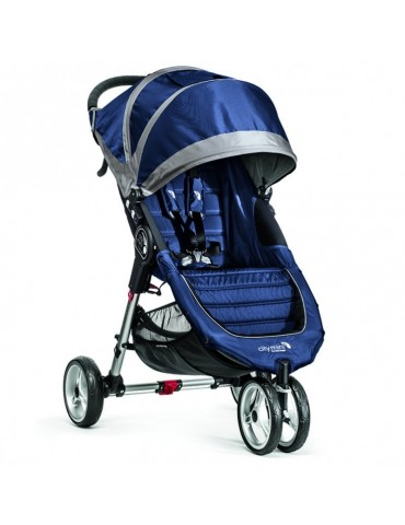 Baby Jogger City Mini Single Wózek spacerowy cobalt/gray