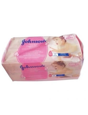 Johnson's Baby Chusteczki delikatnie oczyszczające 2x56szt