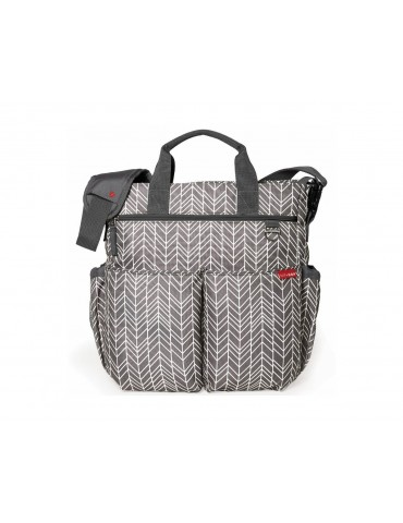 Torba Duo Signature Skip Hop Grey Feather