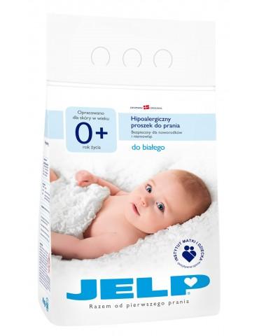Proszek Hipoalergiczny 0+ do prania białego Jelp 4 kg