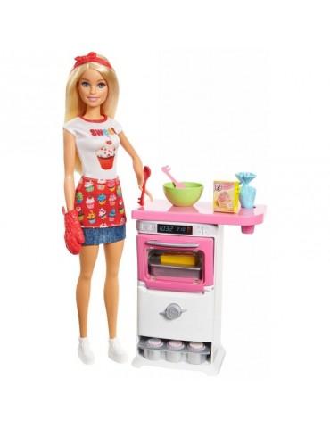 Barbie Zestaw Domowe wypieki i lalka
