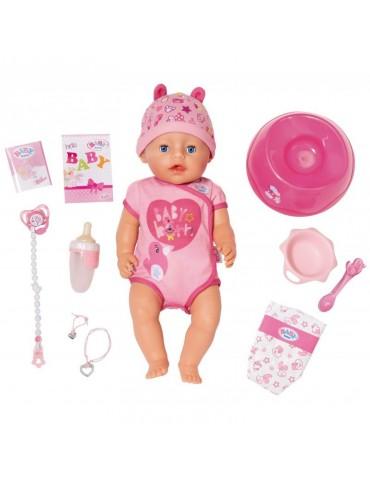 Baby born Lalka interaktywna Soft Touch Dziewczynka 43 cm Model 2018