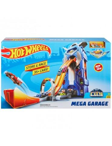 Hot Wheels City Rajdowy garaż i Autko