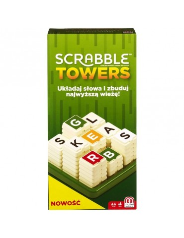 Mattel Gra Scrabble Towers