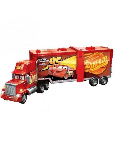 Mattel Auta - Mega Maniek Ciężarówka i Tor samochodowy 2w1