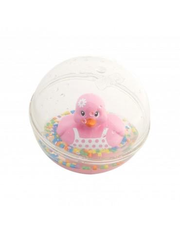 Kąpielowa kaczuszka Fisher Price Różowa