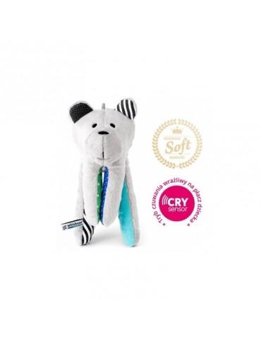 Whisbear® Soft Miś z funkcją Cry sensor Turkus