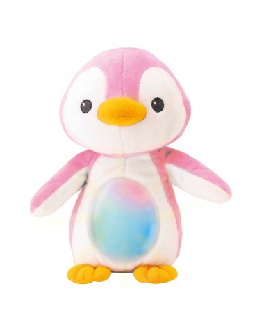 Smily Play Mały spioszek pingwinek różowy