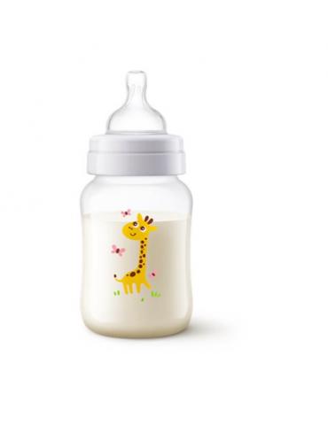 Avent butelka antykolkowa 260ml, Żyrafka