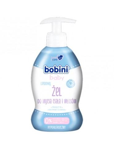 Bobini Baby żel do mycia ciała i włosów Lipidowy 300 ml