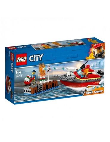 LEGO City Pożar w dokach